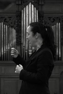 Elodie dirigeert